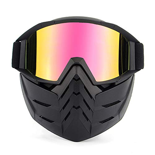Brillenmaske, Retro-Gesichtsmaske für Masken und...