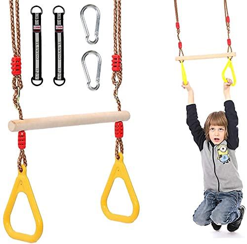 Morwealth Multifunktions Kinderholz Trapeze...