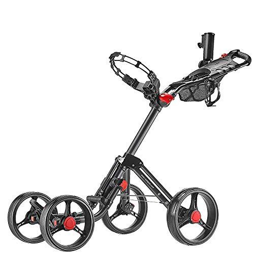 CaddyTek Superlite Explorer golf trolleys 4 Rad...