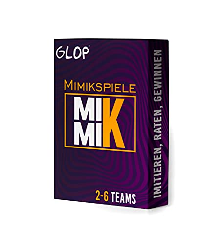 Glop Mimik - Mimik Spiel - Brettspiele für 2-6...