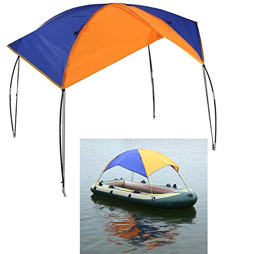 Floving 4-5 Personen Schlauchboot Sonnenschirm...