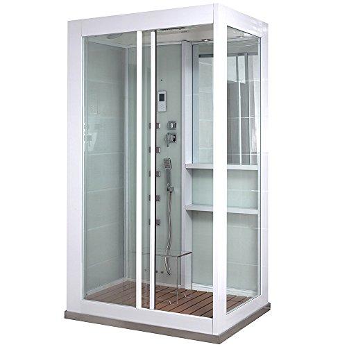 Home Deluxe - Duschkabine - White Luxory XL -...