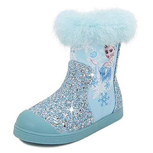 AIYIMEI Schneestiefel Mädchen Prinzessin Schuhe...