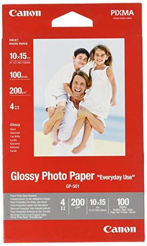 Canon Fotopapier GP-501 glänzend weiß - 10x15cm...