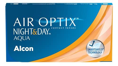 Air Optix Night & Day Aqua Monatslinsen weich, 6...