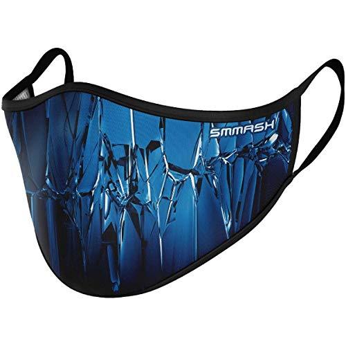 SMMASH Mundschutz Maske Wiederverwendbar,...