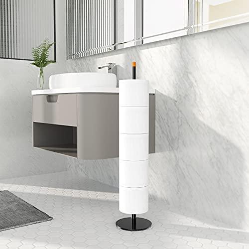 Toilettenpapierhalter Stehend & Klopapierhalter &...