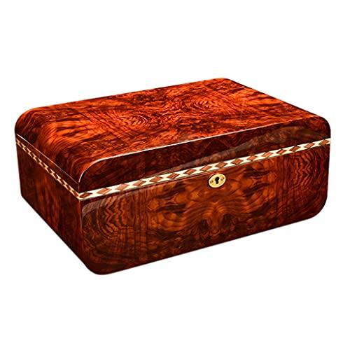 IPOUJ Zigarrenkasten, natürliches Zedernholz,...