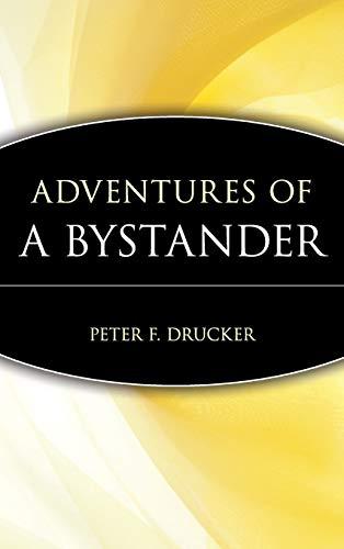 Adventures of a Bystander (Trailblazers:...