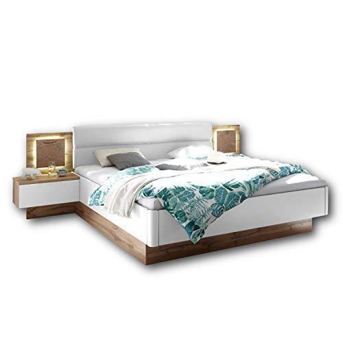 Capri Stilvolle Doppelbett Bettanlage mit...
