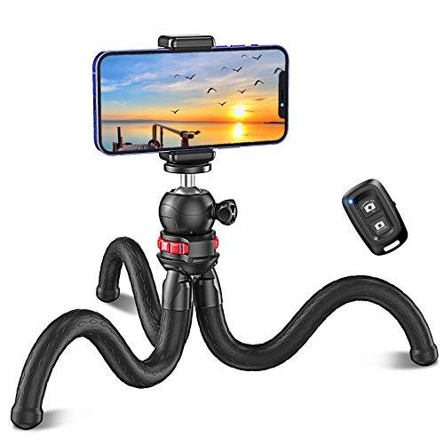 Cocoda Handy Stativ, Flexibel Selfie Stick für...