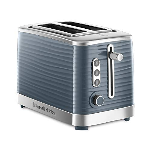 Russell Hobbs Toaster Inspire grau, 2 extra breite...