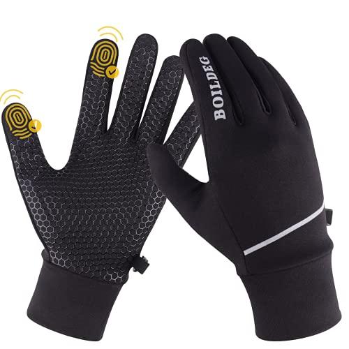 Boildeg Winter Warme Handschuhe, Touchscreen...