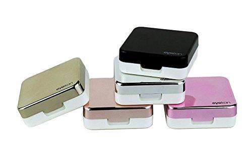 Mini Travel, einfacher Kontaktlinsenbehälter rose...