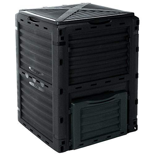 EMAKO Komposter mit Deckel 300L Gartenkomposter...