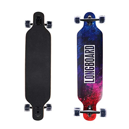 Longboard Komplettboard mit High-Speed ABEC-11...