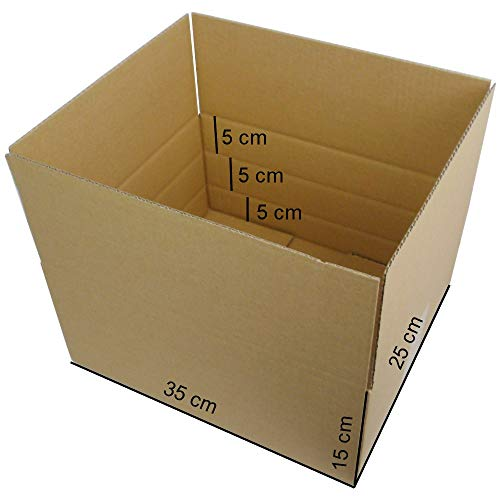 50 Stück Faltkartons Versandkartons optimiert...