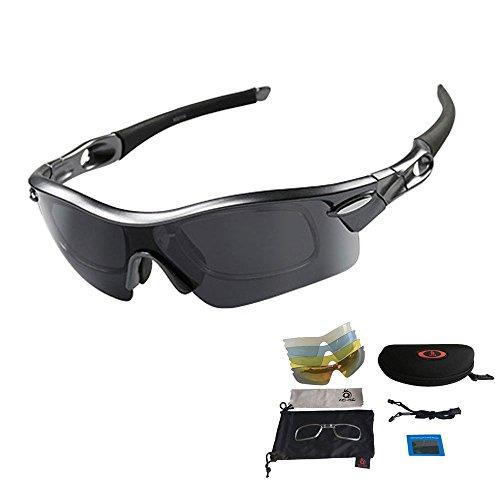 V VILISUN Sport Sonnenbrille Fahrradbrille...