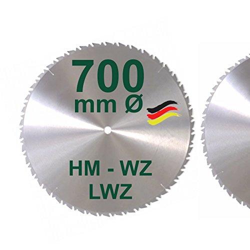 HM Sägeblatt 700 x 30 mm LWZ Hartmetall...
