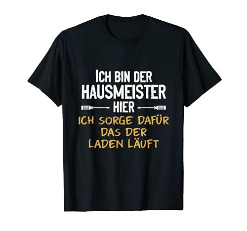 Herren Bester Hausmeister Spruch Hauswart...