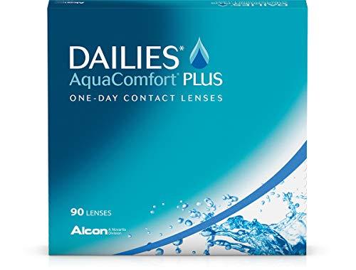 Dailies AquaComfort Plus Tageslinsen weich, 90...