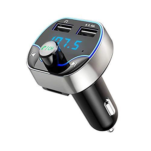 Bluetooth FM Transmitter, Hotchy Bluetooth Auto...