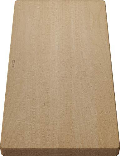 BLANCO 218313 Holzschneidbrett aus massiver Buche,...