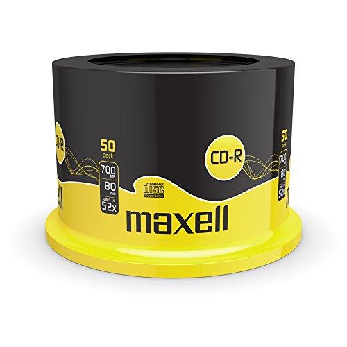 Maxell CD-R Rohlinge (52x Speed, 700MB, 80Min,...