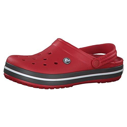 Crocs Unisex-Erwachsene Crocband Clogs, Pepper,...