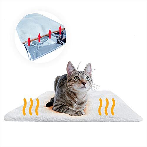 PiuPet® Premium Selbstheizende Decke für Katzen...