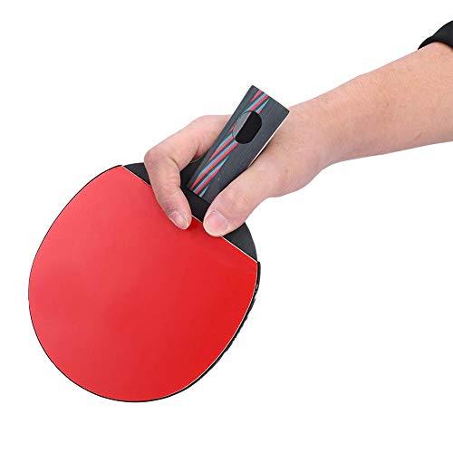 Tbest Tischtennisschläger, 1 Stück Pingpong Ball...