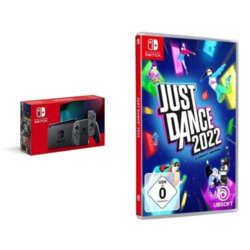 Nintendo Switch Konsole - Grau + Just Dance 2022 -...