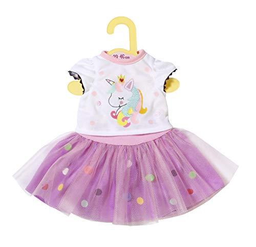 Zapf Creation 870495 Dolly Moda Einhorn Shirt mit...