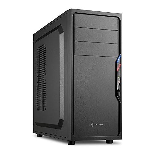 Sharkoon VS4-S PC-Gehäuse (2x USB 2.0, ATX)...