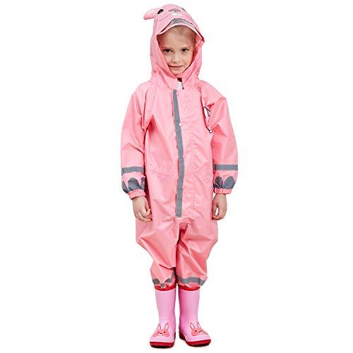 Adorel Kinder Regenanzug Overall Wasserdicht mit...