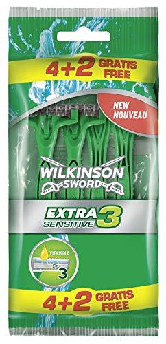 Wilkinson Sword Extra 3 Sensitive Herren...