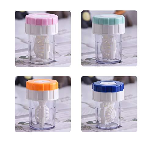 [4 Stück] Kontaktlinsenbehälter,...