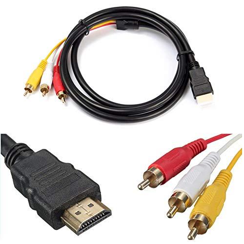 R43 HDMI Cinch Kabel Videokabel HDMI Stecker auf...