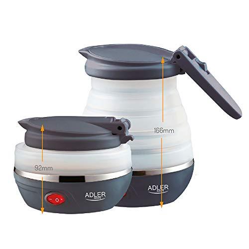 Adler AD1279 Elektrischer Wasserkocher, faltbar,...