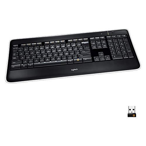 Logitech K800 Kabellose Tastatur, 2.4GHz Wireless...