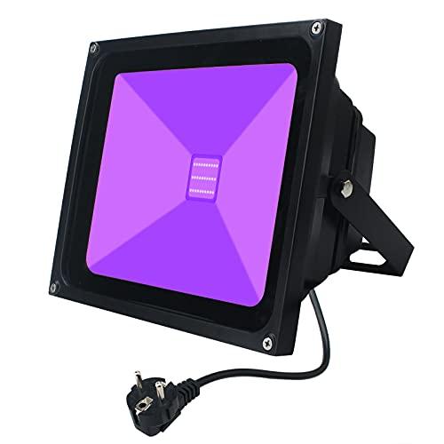 UV Schwarzlicht, Indmird 30W LED Schwarzlicht...