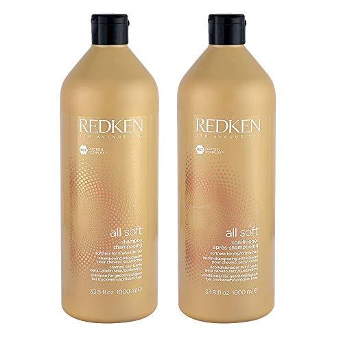 Redken All Soft Shampoo And Conditioner 33.8 Oz...