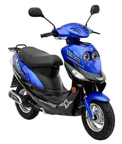 Roller GMX 550 Mokick 45 km/h blau 2,1 KW / 2,9...