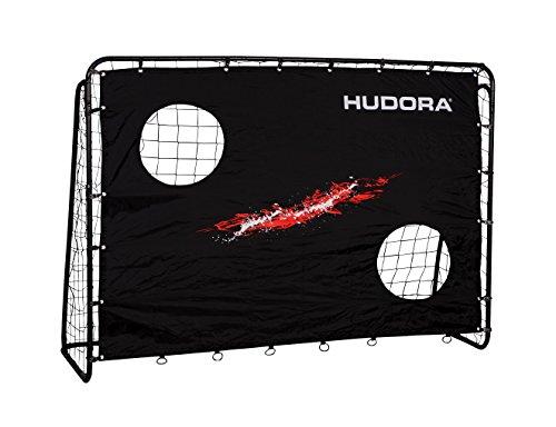 HUDORA Fußballtor Trainer mit Torwand |...