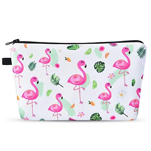 Flamingo Kosmetiktasche – Kulturbeutel Mäppchen...