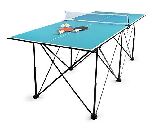 Leomark Tischtennis Klappbare - Blau...