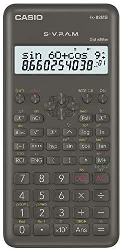 Casio FX-82MS-2 Wissenschaftlicher Taschenrechner,...