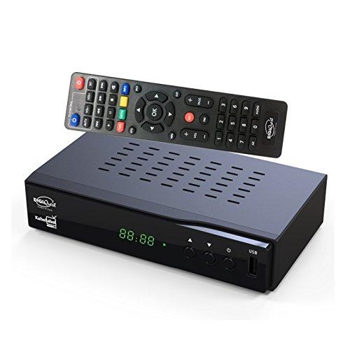 DigiQuest KabelAbel Full-HD Kabelreceiver Digital...