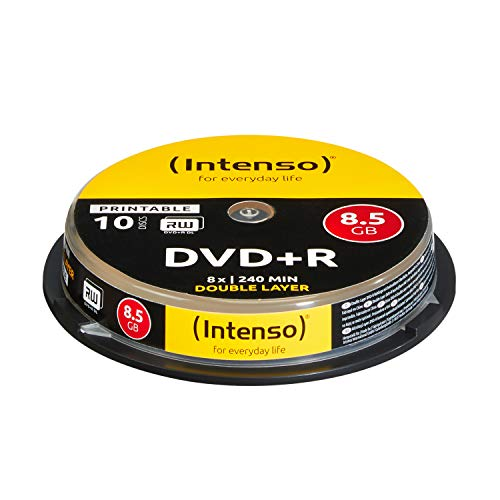 Intenso DVD+R 8,5GB Double Layer Printable 8x...