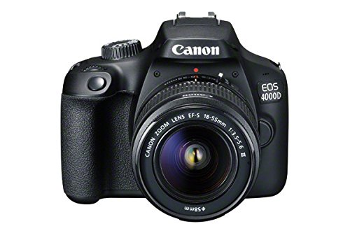 Canon EOS 4000D DSLR Camera and EF-S 18-55 mm...